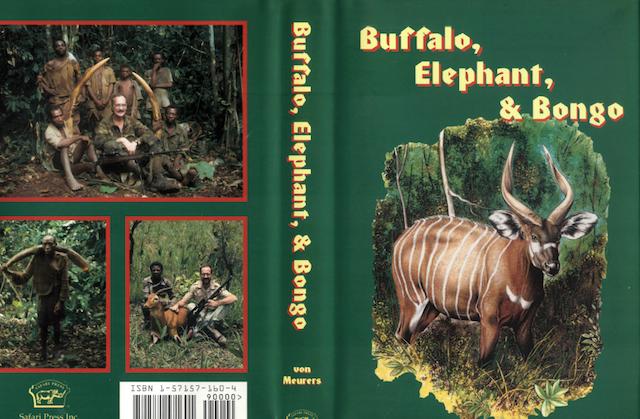 BUFFALO, ELEPHANT, & BONGO